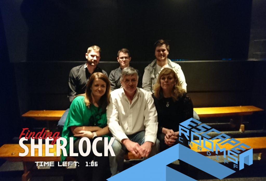 Finding Sherlock Escape Room Cardiff